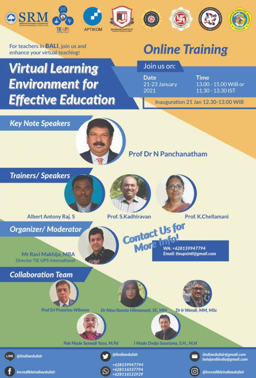 Virtual Learning Environment for Effective Education